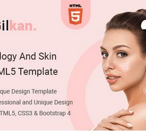 دانلود قالب HTML خدمات زیبایی Gilkan