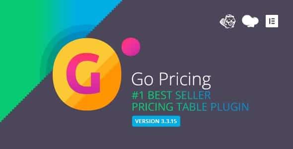 دانلود افزونه وردپرس جدول قیمت گذاری ریسپانسیو Go Pricing