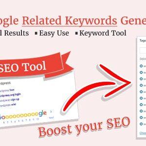 دانلود افزونه وردپرس Google Related Keywords Generator