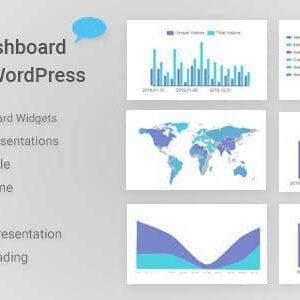 دانلود افزونه وردپرس Graphical Dashboard Widgets for WordPress
