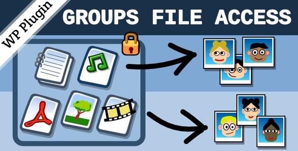 دانلود افزونه وردپرس گروپ فایل اکسس Groups File Access