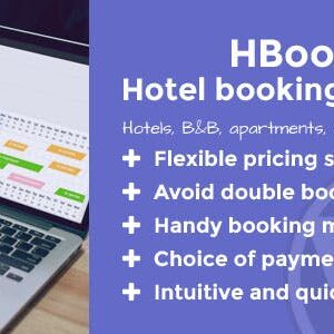 دانلود افزونه وردپرس رزرواسیون هتل HBook