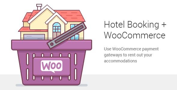 دانلود افزونه ووکامرس Hotel Booking WooCommerce Payments