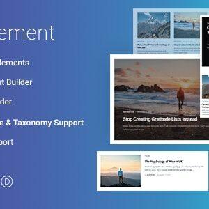 دانلود افزونه وردپرس JBlog Elements