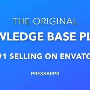 دانلود افزونه وردپرس پشتیبانی Knowledge Base