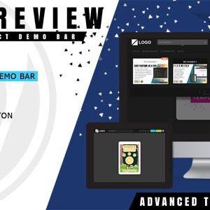 دانلود افزونه وردپرس نوار نمایش دموی قالب LivePreview