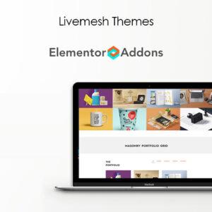 دانلود افزونه وردپرس Livemesh Addons Pro برای المنتور