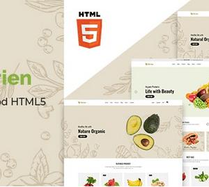 دانلود قالب HTML فروشگاهی Obrien