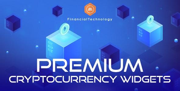 دانلود افزونه وردپرس Premium Cryptocurrency Widgets