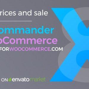 دانلود افزونه ووکامرس قیمت Price Commander