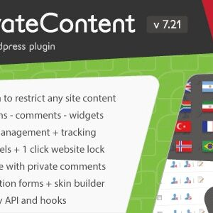 دانلود افزونه وردپرس Private Content