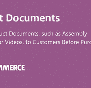 دانلود افزونه ووکامرس WooCommerce Product Documents