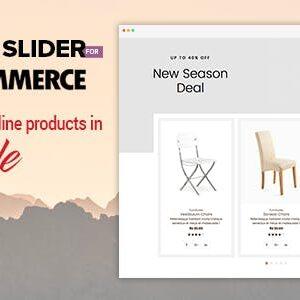 دانلود افزونه ووکامرس اسلایدر محصولات Product Slider
