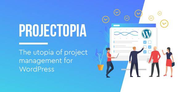 دانلود افزونه وردپرس مدیریت پروژه Projectopia