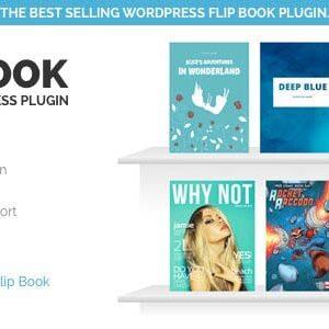 دانلود افزونه وردپرس فلیپ بوک Responsive FlipBook