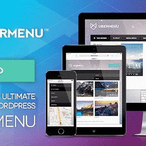 دانلود افزونه وردپرس ایجاد مگامنو UberMenu
