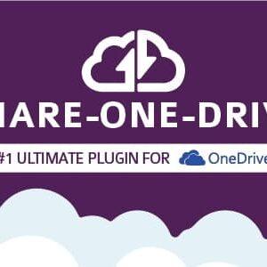 دانلود افزونه وردپرس اشتراک درایو Share-one-Drive
