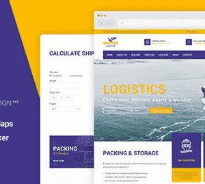 دانلود قالب HTML حمل و نقل Shipper Logistic