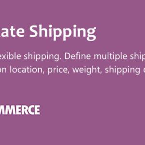 دانلود افزونه ووکامرس WooCommerce Table Rate Shipping