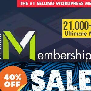 دانلود افزونه وردپرس ایجاد اشتراک ویژه Ultimate Membership Pro
