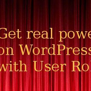 دانلود افزونه وردپرس ویرایش نقش کاربران User Role Editor Pro