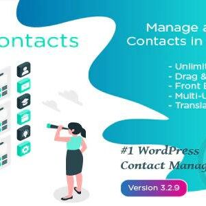 دانلود افزونه وردپرس مدیریت مخاطبین WP Contacts