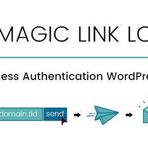 دانلود افزونه وردپرس ورود بدون رمز WP Magic Link Login