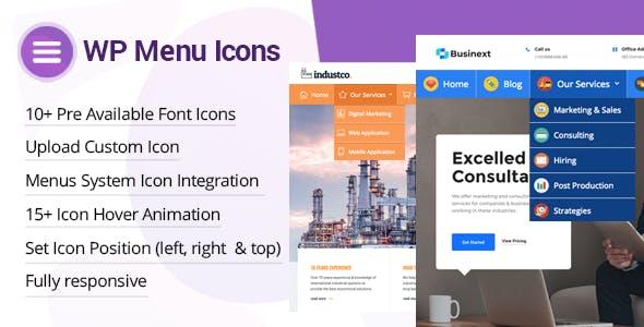 دانلود افزونه وردپرس سفارشی سازی منو WP Menu Icons