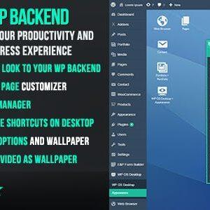 دانلود افزونه وردپرس WP OS Desktop Backend