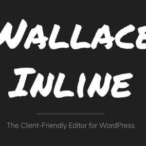 دانلود افزونه وردپرس والس اینلاین Wallace Inline