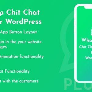 دانلود افزونه وردپرس چت واتساپ WhatsApp Chit Chat