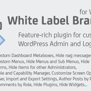 دانلود افزونه وردپرس White Label Branding