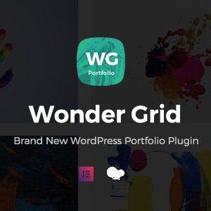 دانلود افزونه وردپرس نمونه کار Wonder Grid