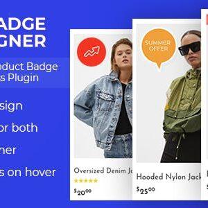 دانلود افزونه وردپرس Woo Badge Designer