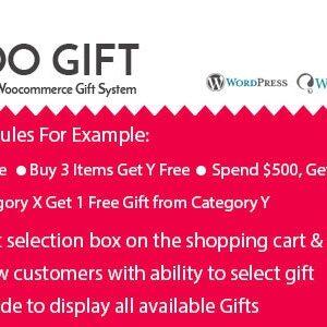 دانلود افزونه ووکامرس هدیه Woo Gift
