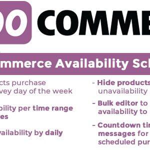 دانلود افزونه ووکامرس WooCommerce Availability Scheduler