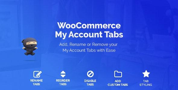 دانلود افزونه ووکامرس WooCommerce Custom My Account Pages