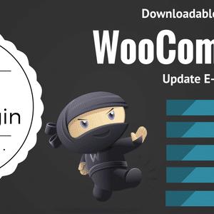 دانلود افزونه ووکامرس Downloadable Product Update E-mails
