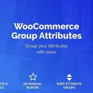 دانلود افزونه ووکامرس WooCommerce Group Attributes