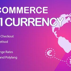 دانلود افزونه ووکامرس WooCommerce Multi Currency