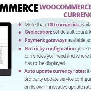 دانلود افزونه وردپرس WooCommerce Multiple Currencies