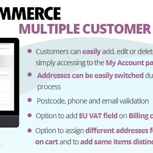 دانلود افزونه ووکامرس WooCommerce Multiple Customer Addresses