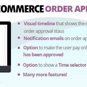 دانلود افزونه ووکامرس WooCommerce Order Approval