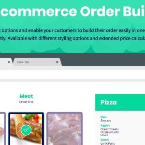 دانلود افزونه ووکامرس محصولات ترکیبی WooCommerce Order Builder