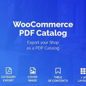 دانلود افزونه ووکامرس کاتالوگ WooCommerce PDF Catalog