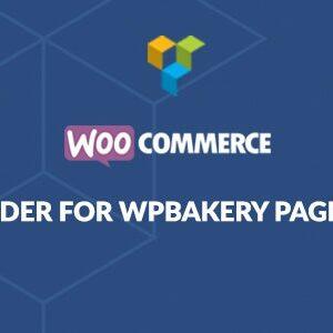 دانلود افزونه ووکامرس WooCommerce Page Builder برای WPBakery
