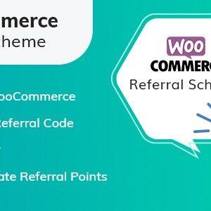دانلود افرونه ووکامرس WooCommerce Referral Scheme