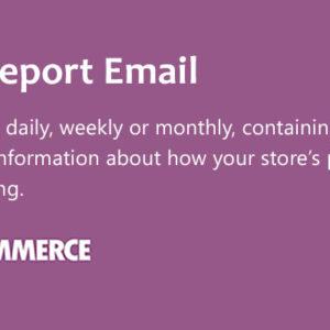 دانلود افزونه ووکامرس WooCommerce Sales Report Email