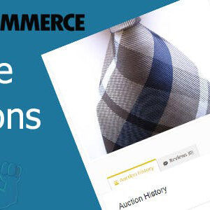 دانلود افزونه ووکامرس مزایده WooCommerce Simple Auctions