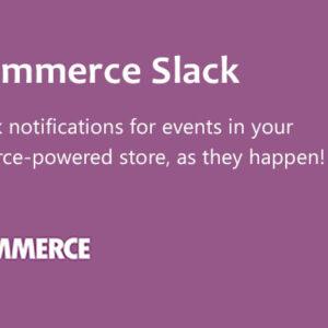 دانلود افزونه ووکامرس WooCommerce Slack